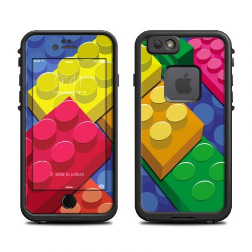 Bricks LifeProof iPhone 6s fre Case Skin