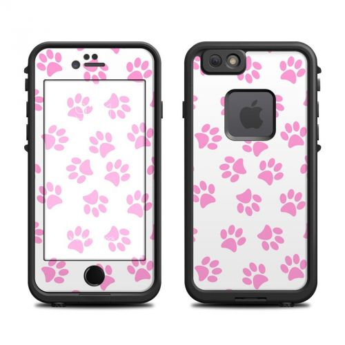Cat Paws LifeProof iPhone 6s fre Skin