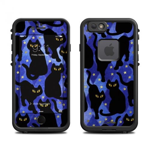 Cat Silhouettes LifeProof iPhone 6s fre Skin