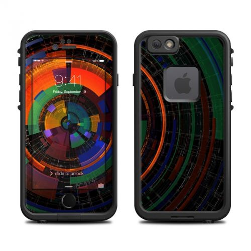 Color Wheel LifeProof iPhone 6s fre Skin