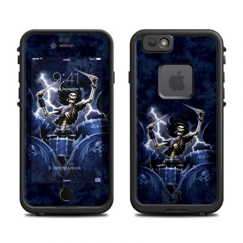 Death Drummer LifeProof iPhone 6s fre Case Skin