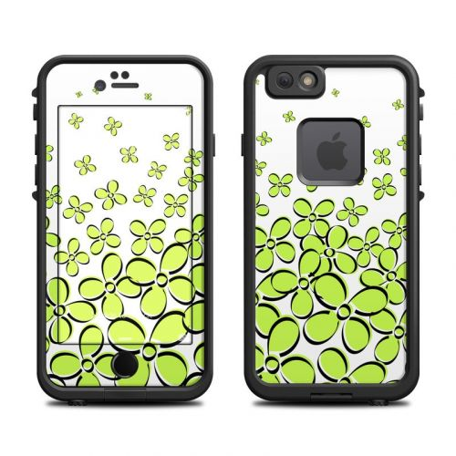 Green LifeProof iPhone 6s fre Case Skin