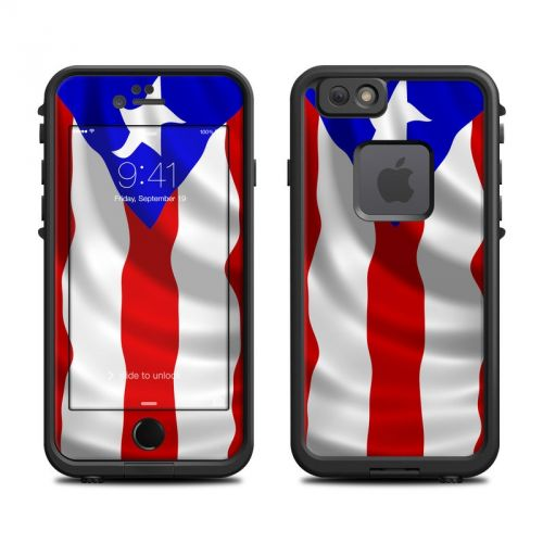 Puerto Rican Flag LifeProof iPhone 6s fre Skin