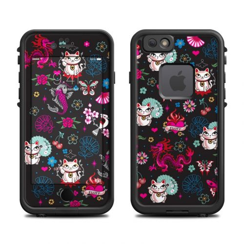 Geisha Kitty LifeProof iPhone 6s fre Case Skin