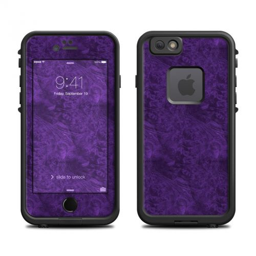 Purple Lacquer LifeProof iPhone 6s fre Skin