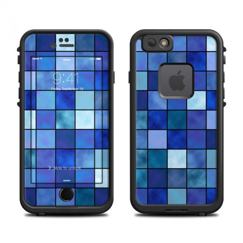 Blue Mosaic LifeProof iPhone 6s fre Skin
