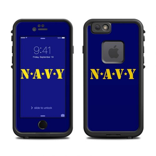 Navy LifeProof iPhone 6s fre Case Skin
