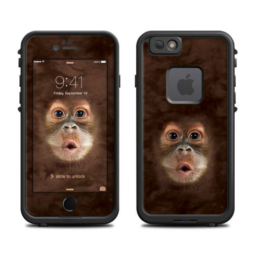 Orangutan LifeProof iPhone 6s fre Case Skin
