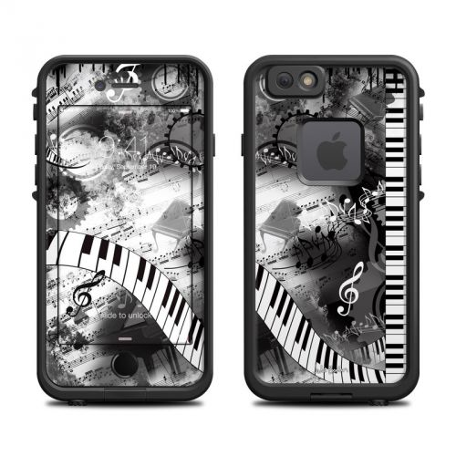 Piano Pizazz LifeProof iPhone 6s fre Skin