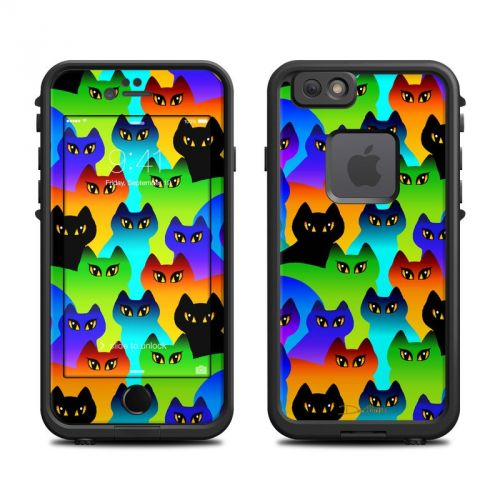 Rainbow Cats LifeProof iPhone 6s fre Skin
