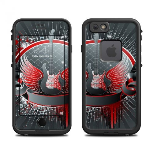 Rock Out LifeProof iPhone 6s fre Skin