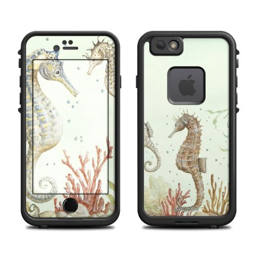 Seahorse Trio LifeProof iPhone 6s fre Case Skin