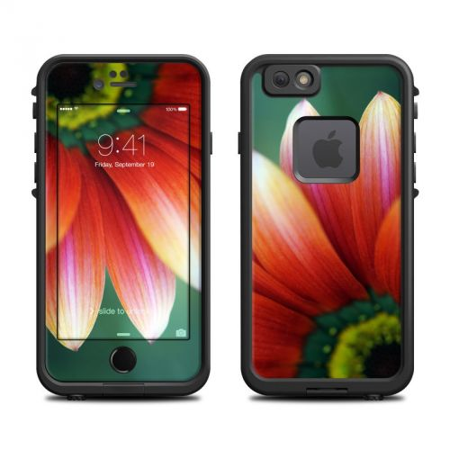 Scarlet Gerbera LifeProof iPhone 6s fre Skin