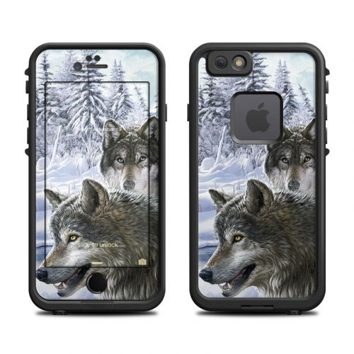 Snow Wolves LifeProof iPhone 6s fre Case Skin
