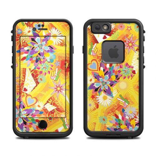 Wall Flower LifeProof iPhone 6s fre Case Skin