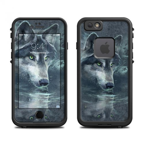 Wolf Reflection LifeProof iPhone 6s fre Skin