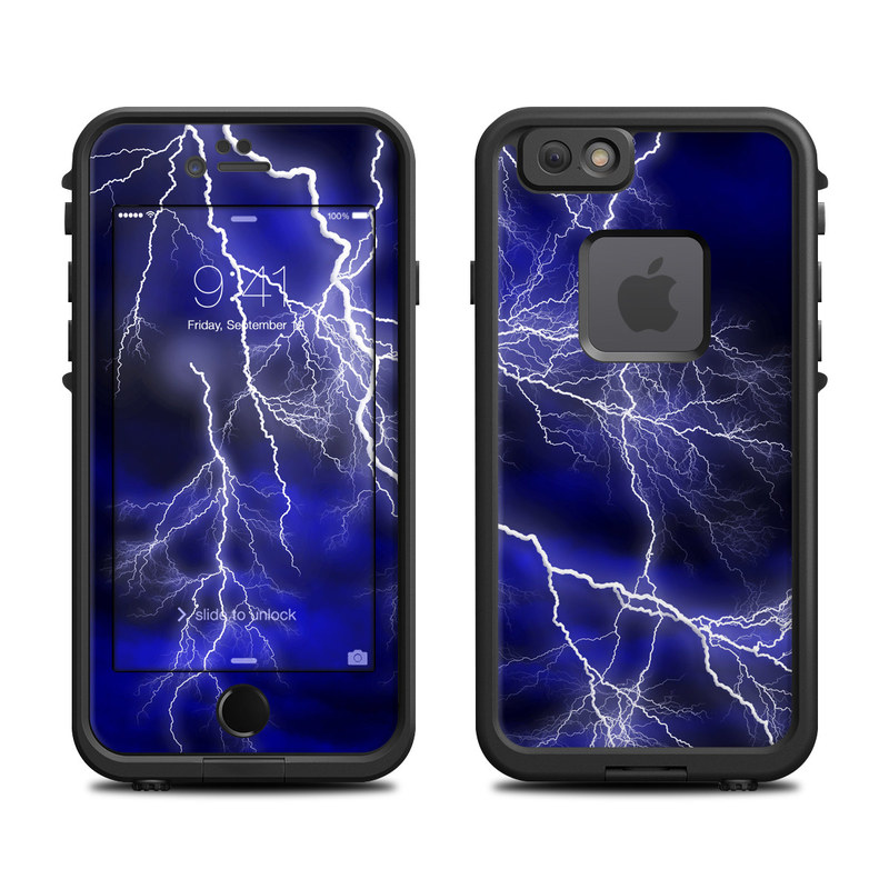 Apocalypse Blue LifeProof iPhone 6s fre Case Skin