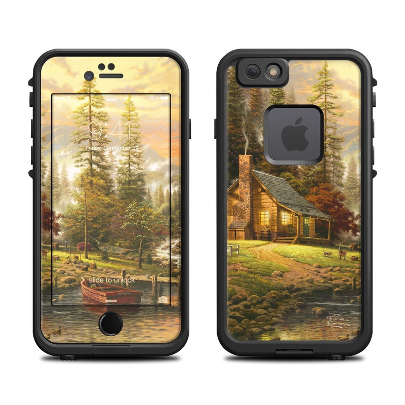 A Peaceful Retreat LifeProof iPhone 6s fre Skin