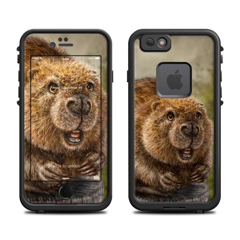 Beaver Totem LifeProof iPhone 6s fre Case Skin