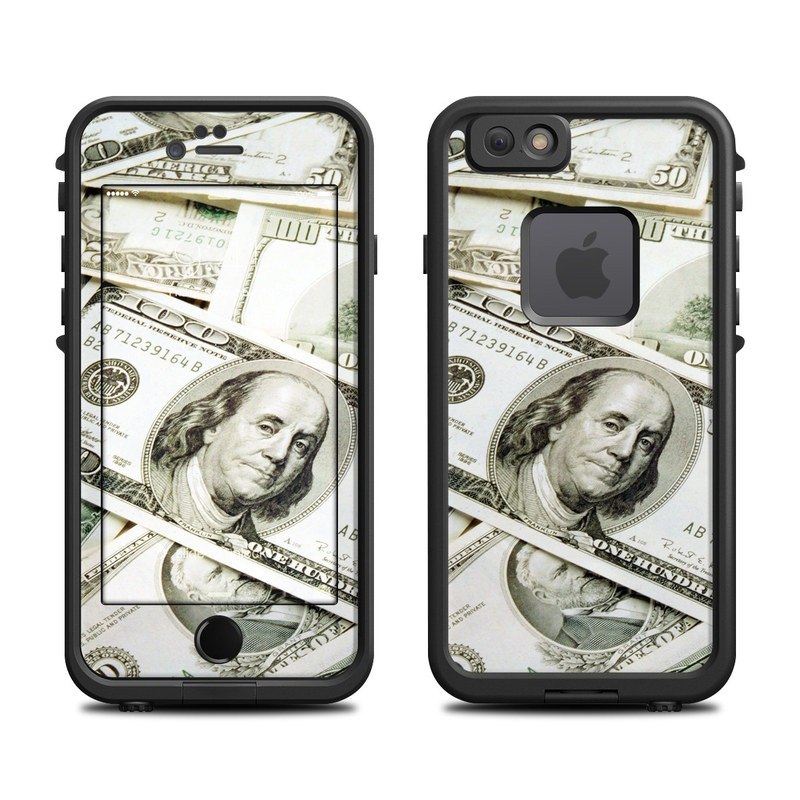 Benjamins LifeProof iPhone 6s fre Case Skin
