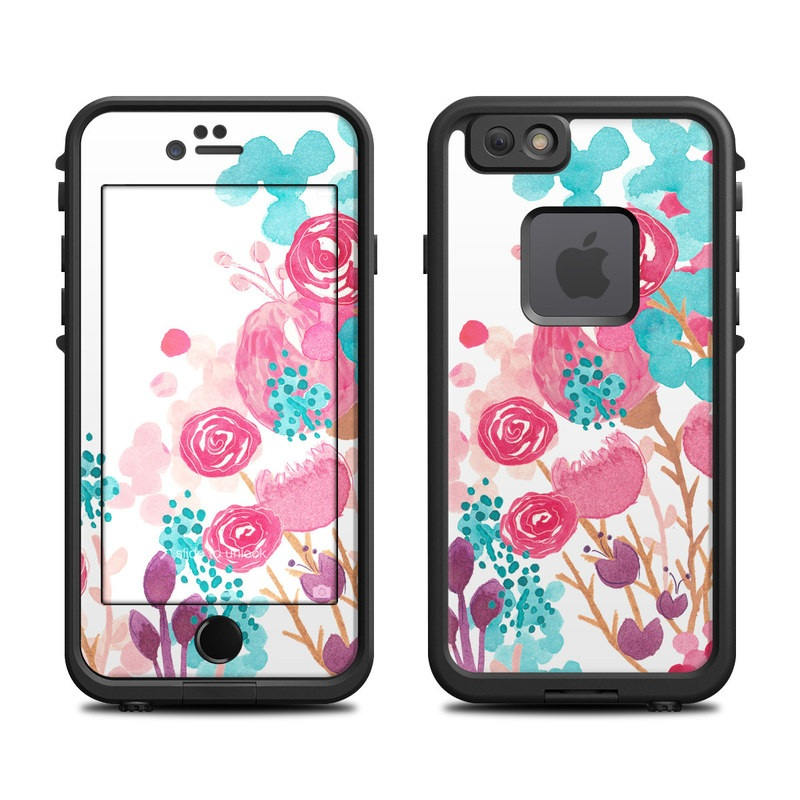 Blush Blossoms LifeProof iPhone 6s fre Skin