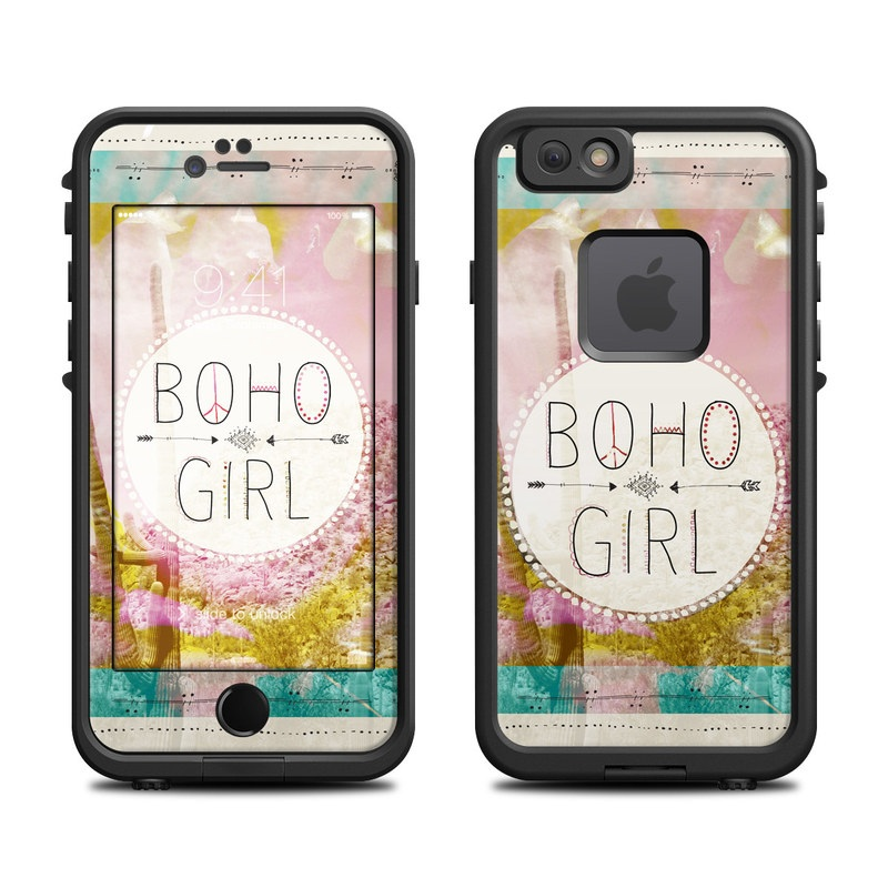 Boho Girl LifeProof iPhone 6s fre Case Skin