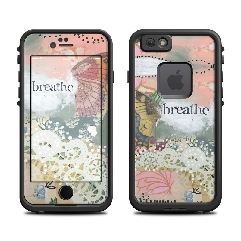 Breathe LifeProof iPhone 6s fre Case Skin