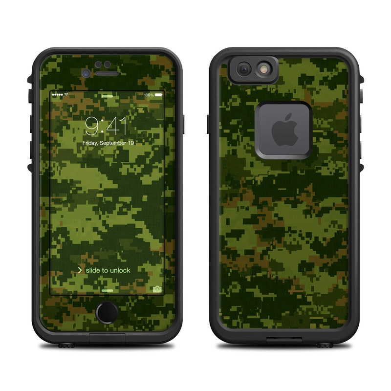 CAD Camo LifeProof iPhone 6s fre Skin