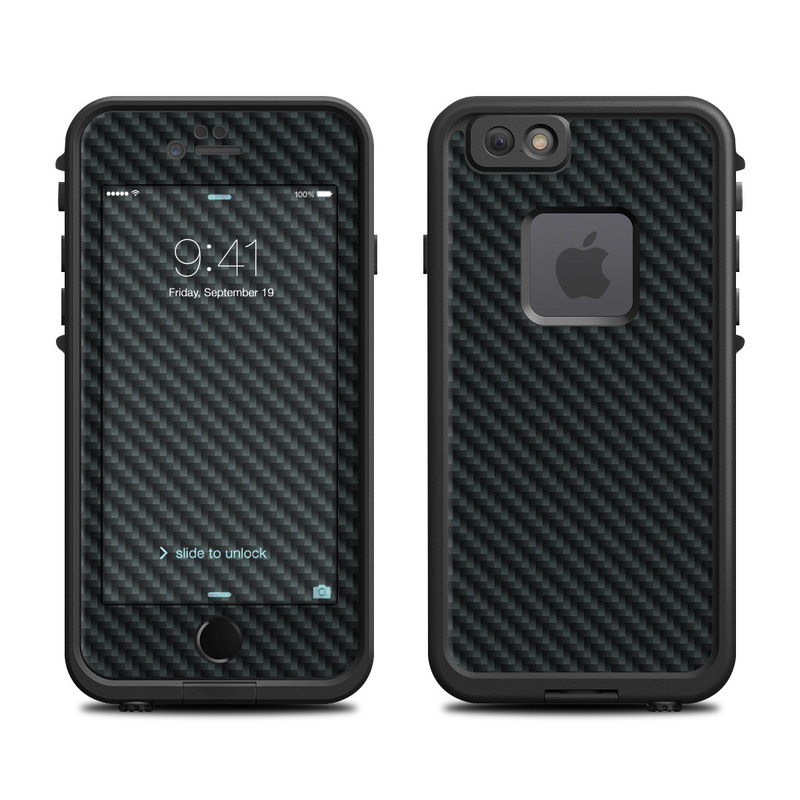 Carbon Fiber LifeProof iPhone 6s fre Case Skin