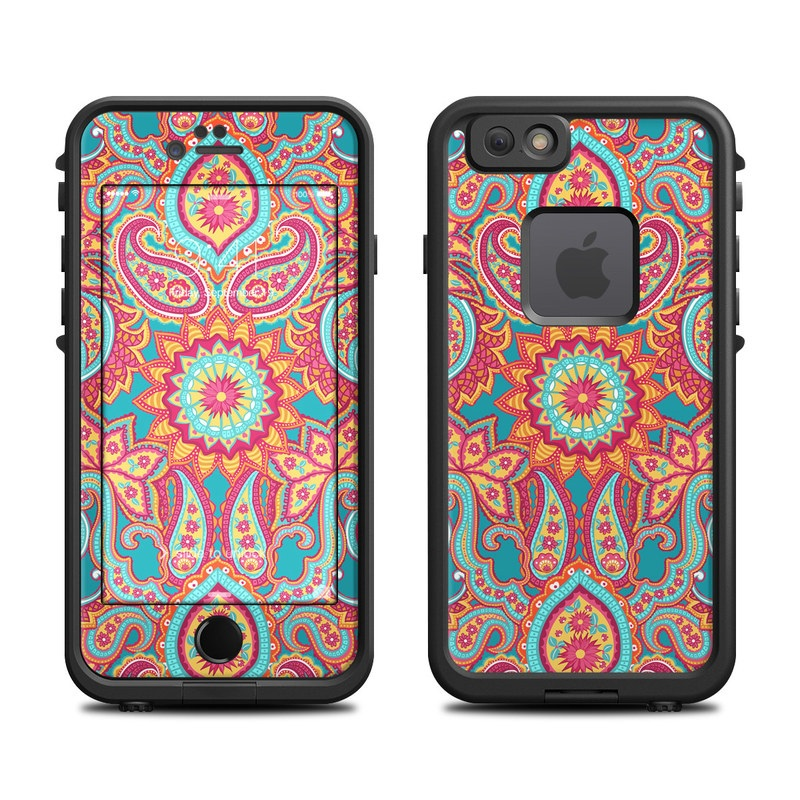 Carnival Paisley LifeProof iPhone 6s fre Case Skin