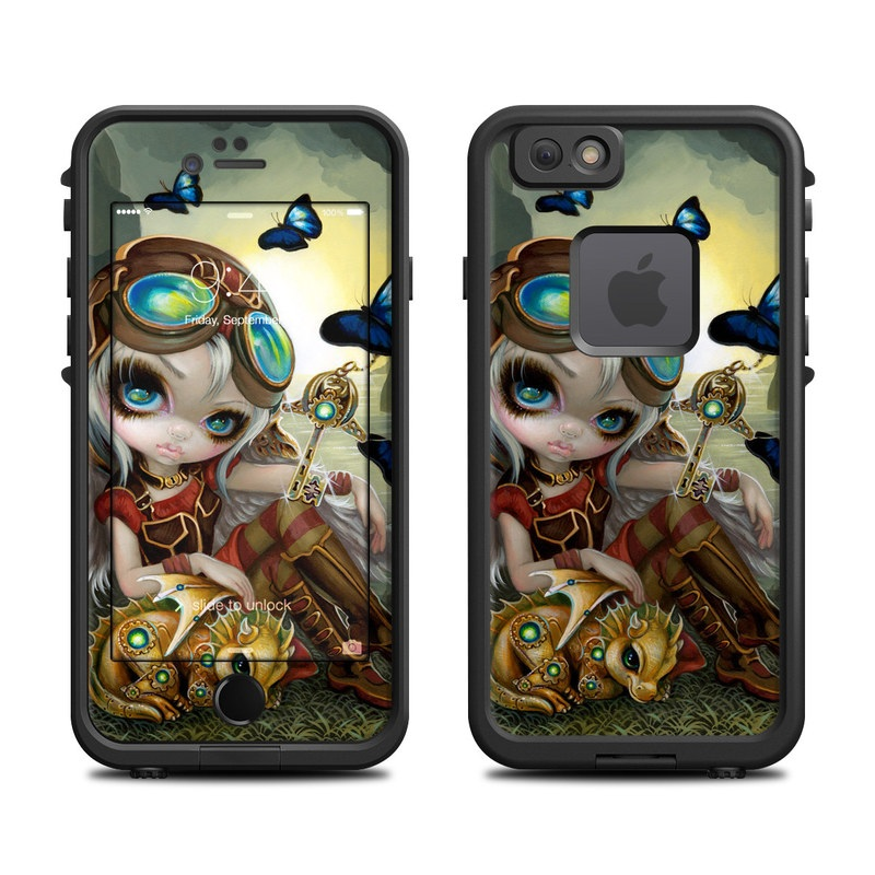 Clockwork Dragonling LifeProof iPhone 6s fre Case Skin