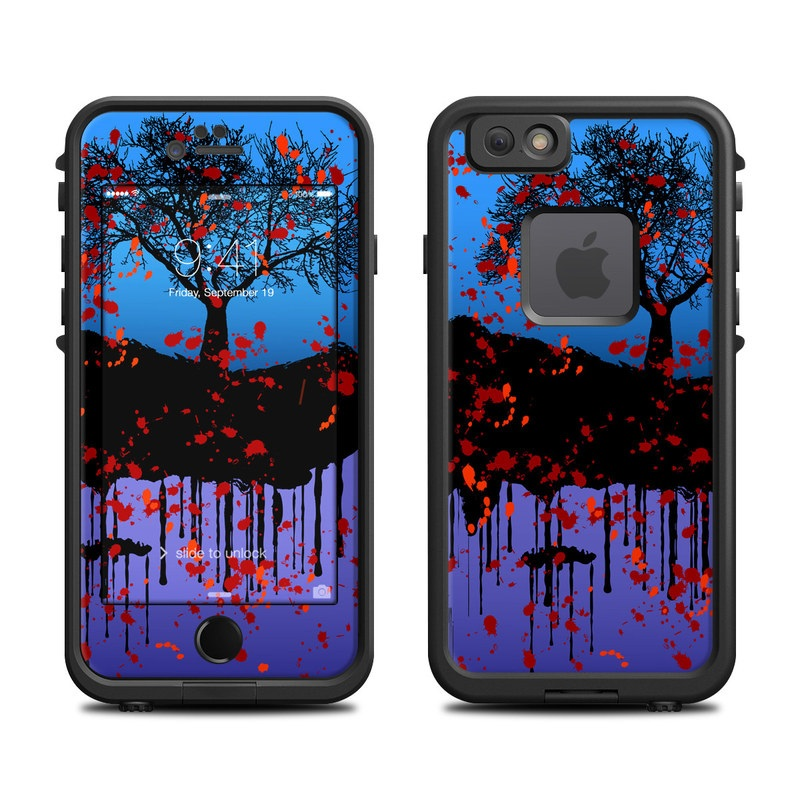Cold Winter LifeProof iPhone 6s fre Skin