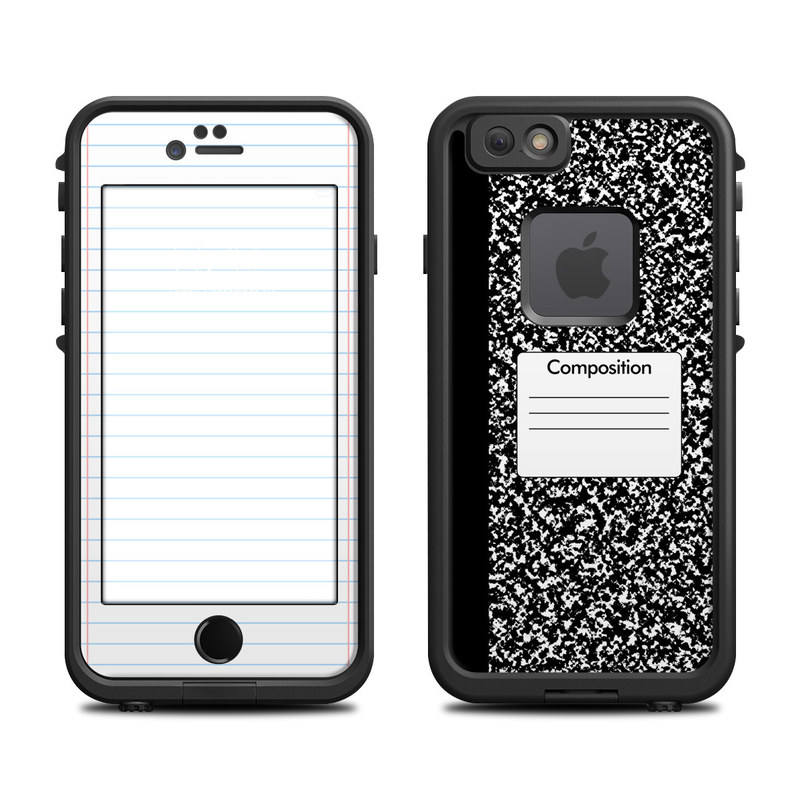 Composition Notebook LifeProof iPhone 6s fre Case Skin