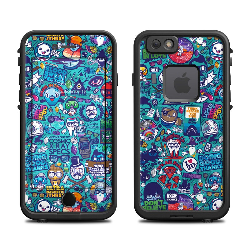 Cosmic Ray LifeProof iPhone 6s fre Skin