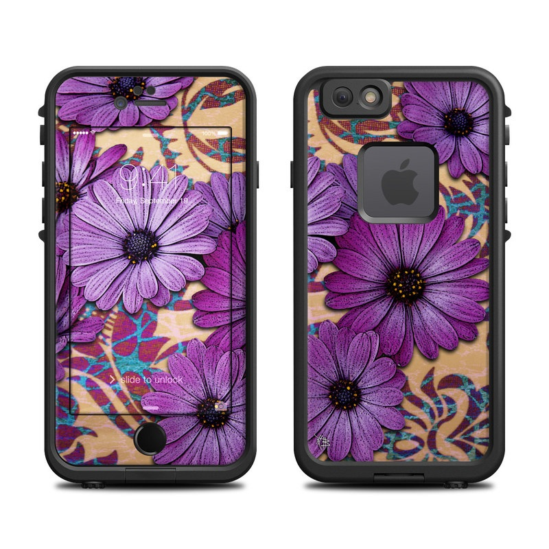 Daisy Damask LifeProof iPhone 6s fre Case Skin
