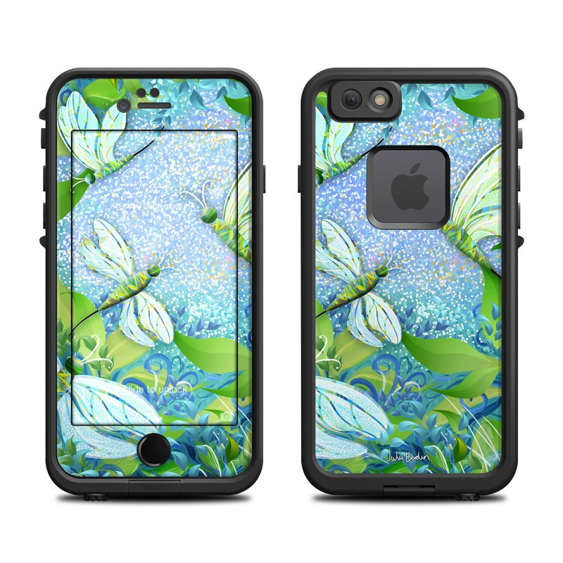 Dragonfly Fantasy LifeProof iPhone 6s fre Skin