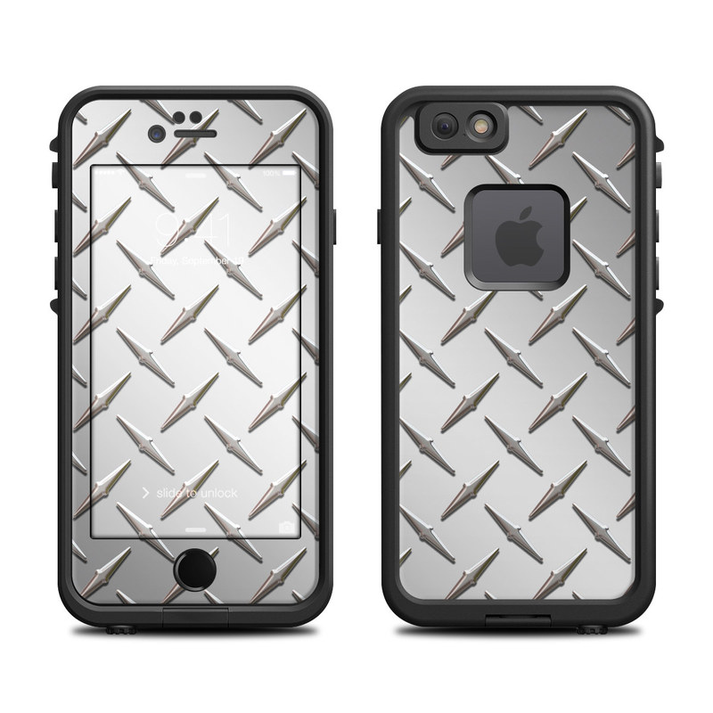 Diamond Plate LifeProof iPhone 6s fre Case Skin