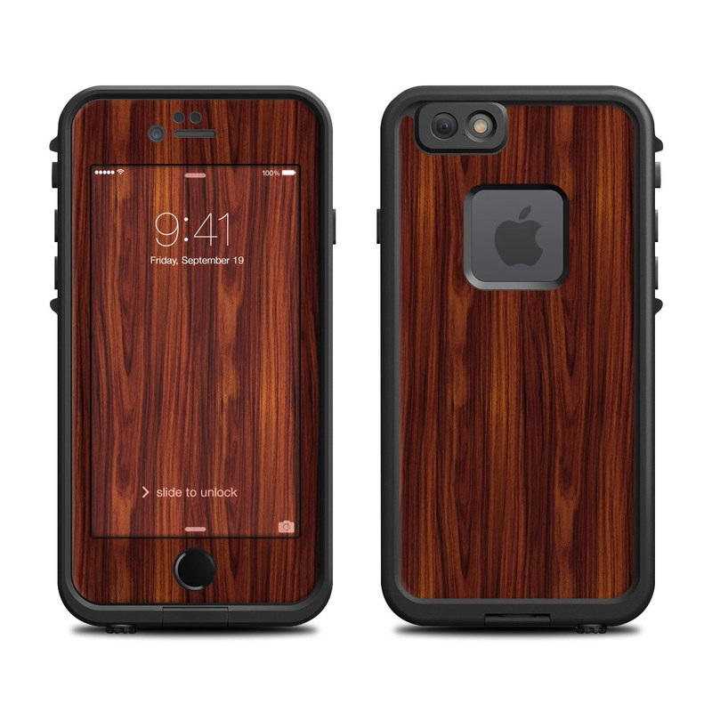 LifeProof iPhone 6s fre Case Skin design of Wood, Red, Brown, Hardwood, Wood flooring, Wood stain, Caramel color, Laminate flooring, Flooring, Varnish with black, red colors