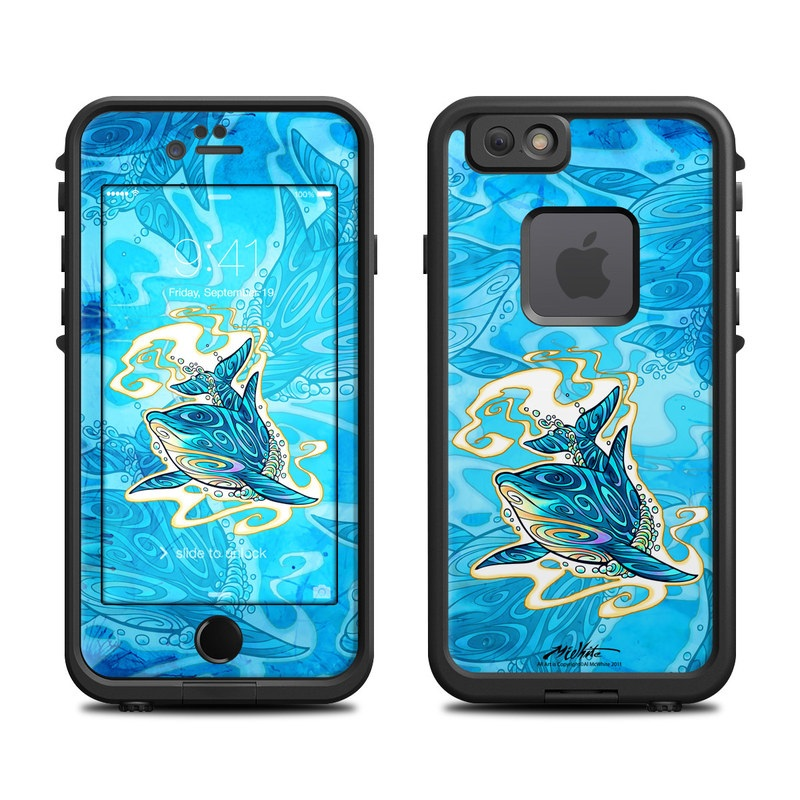 Dolphin Daydream LifeProof iPhone 6s fre Case Skin