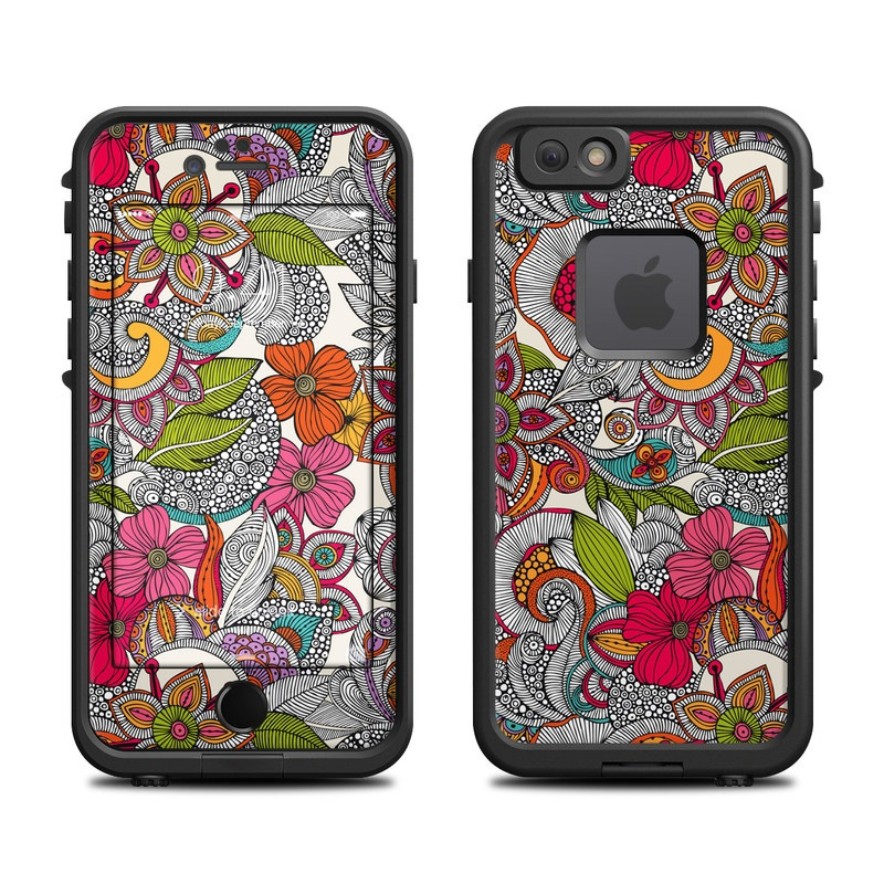 Doodles Color LifeProof iPhone 6s fre Skin
