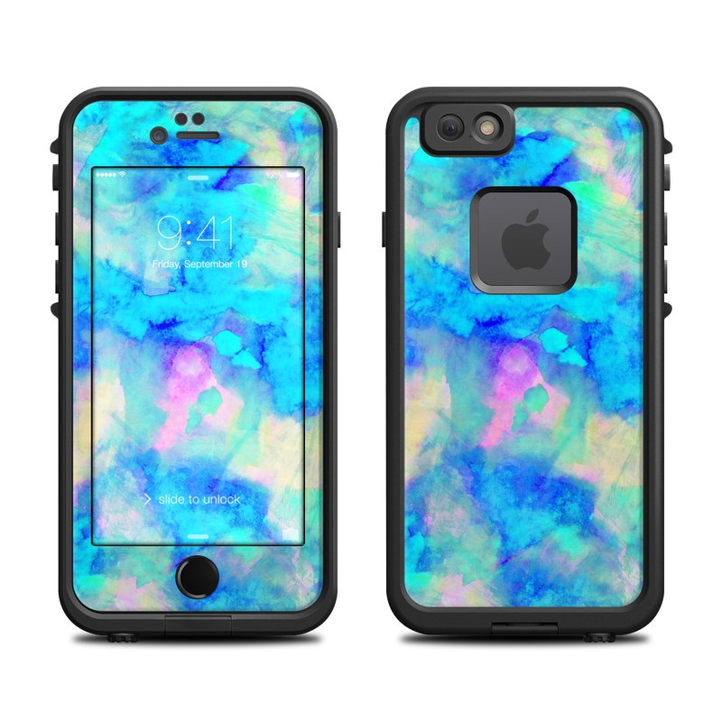 Electrify Ice Blue LifeProof iPhone 6s fre Case Skin