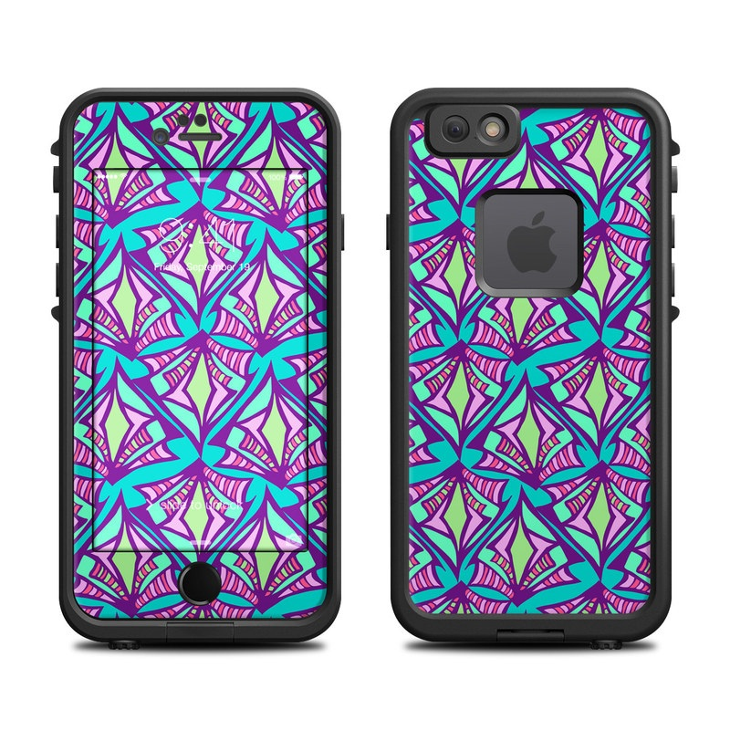 Fly Away Teal LifeProof iPhone 6s fre Case Skin