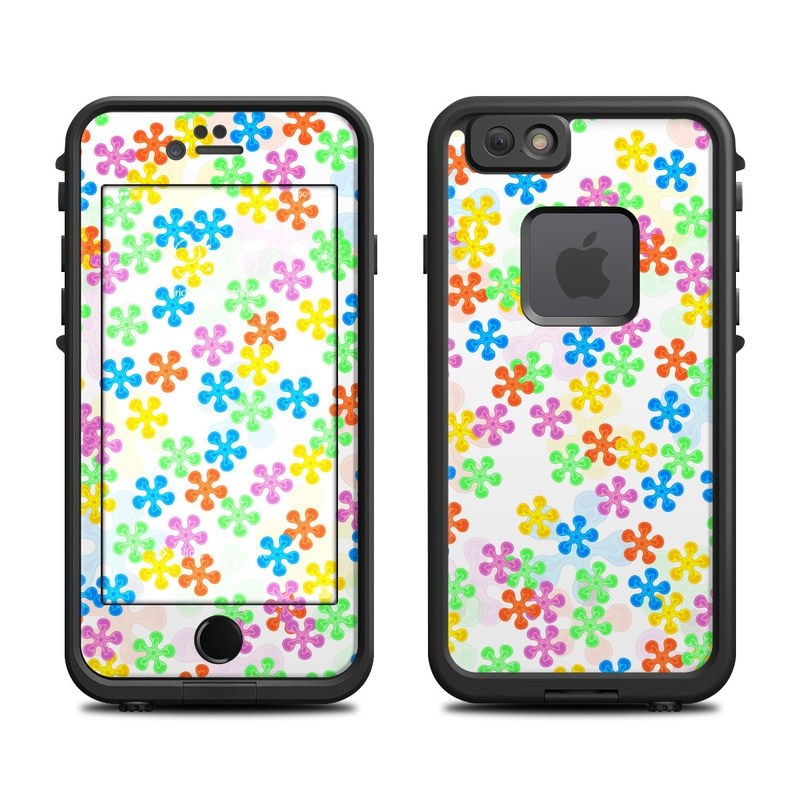 Flower Power LifeProof iPhone 6s fre Case Skin