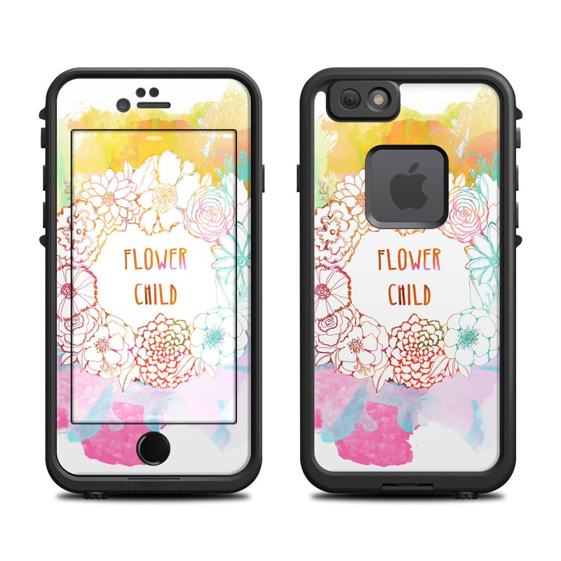 Flower Child LifeProof iPhone 6s fre Skin