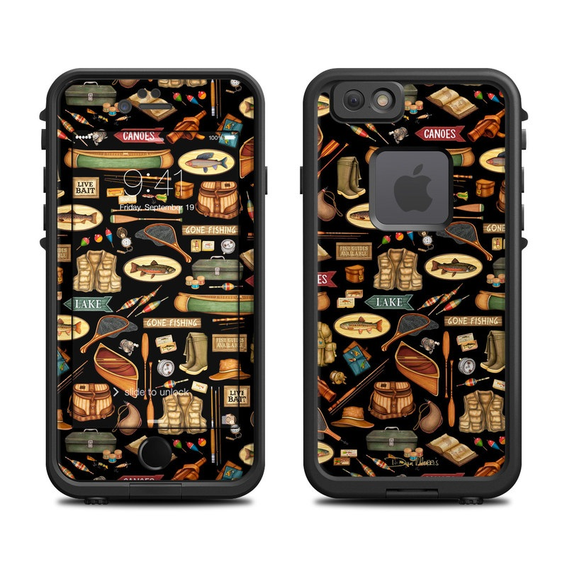 Gone Fishing LifeProof iPhone 6s fre Skin
