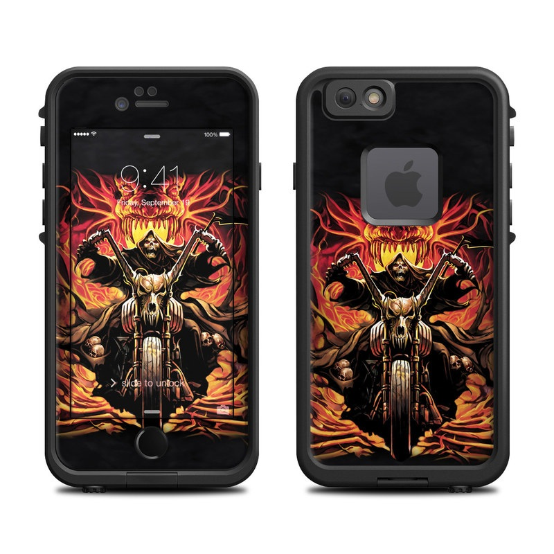 Grim Rider LifeProof iPhone 6s fre Skin