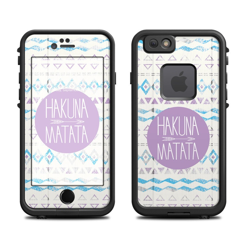 Hakuna Matata LifeProof iPhone 6s fre Case Skin