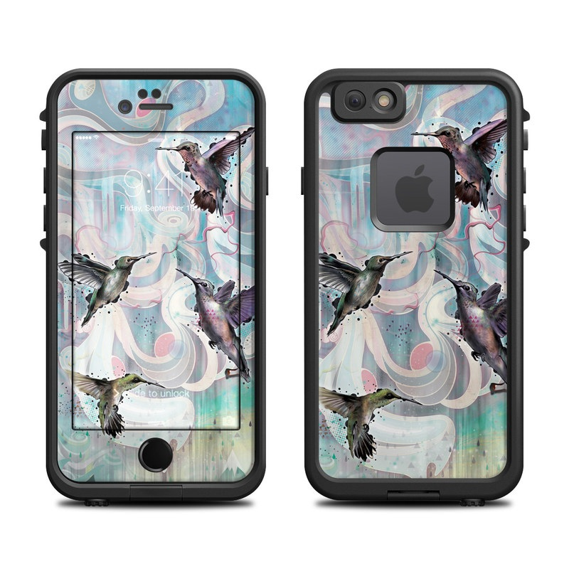 Hummingbirds LifeProof iPhone 6s fre Case Skin