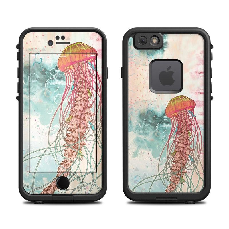 Jellyfish LifeProof iPhone 6s fre Case Skin
