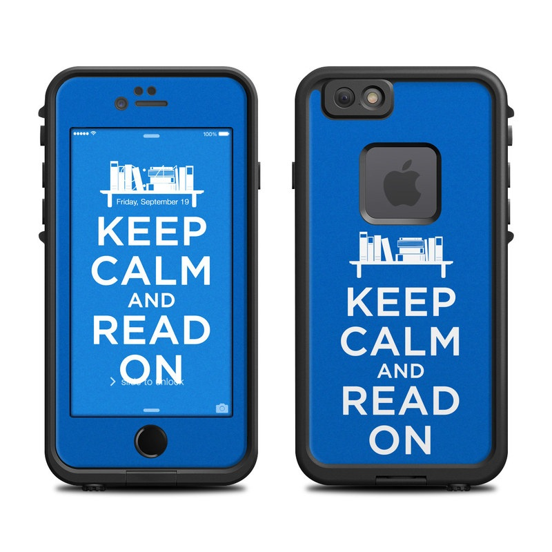 Keep Calm - Read LifeProof iPhone 6s fre Case Skin